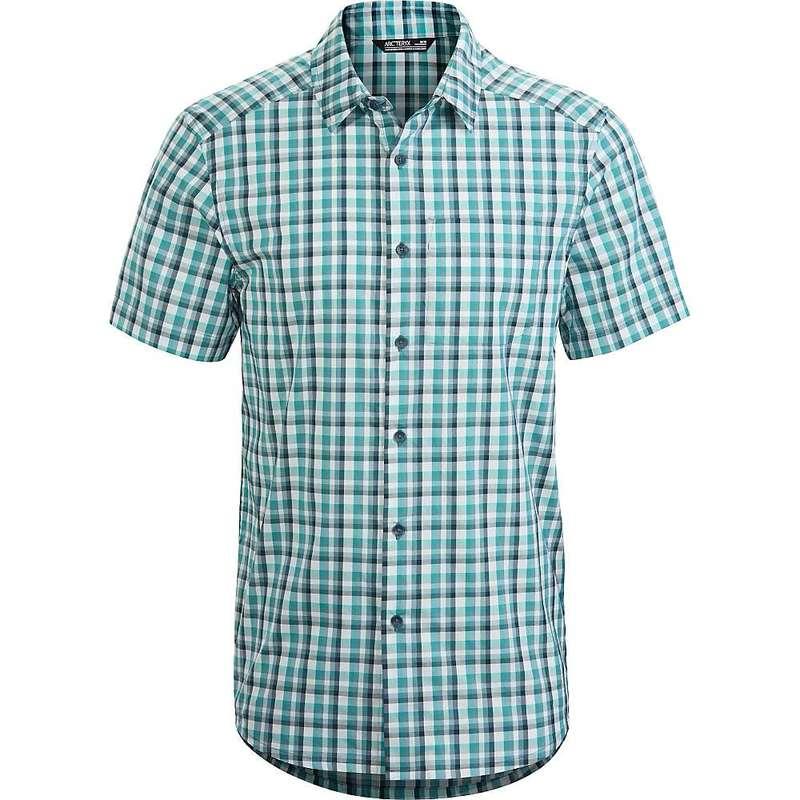 アークテリクス メンズ シャツ トップス Arcteryx Men's Brohm SS Shirt Atlantis