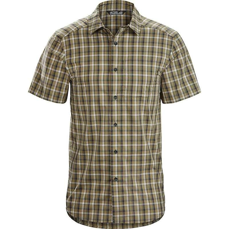 アークテリクス メンズ シャツ トップス Arcteryx Men's Brohm SS Shirt Resurgent