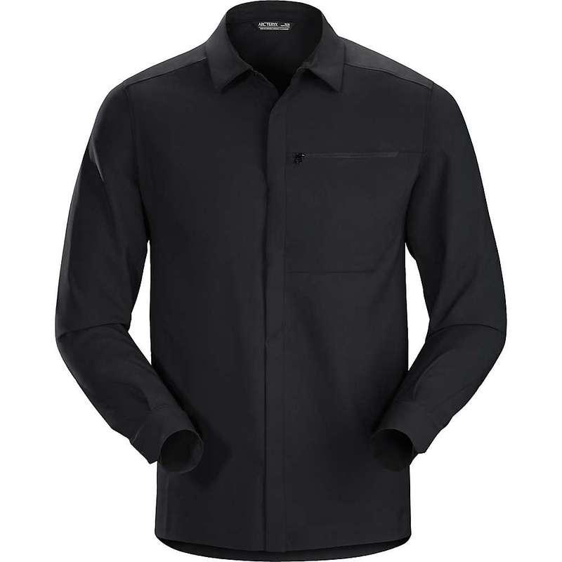 アークテリクス メンズ シャツ トップス Arcteryx Men's Skyline LS Shirt Black