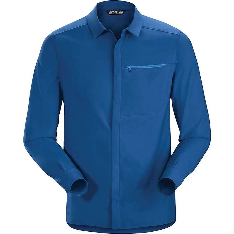 アークテリクス メンズ シャツ トップス Arcteryx Men's Skyline LS Shirt Cobalt Sun