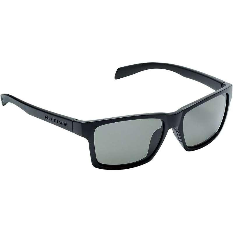 ネイティブ メンズ サングラス・アイウェア アクセサリー Native Flatirons Polarized Sunglasses Matte Black / Grey