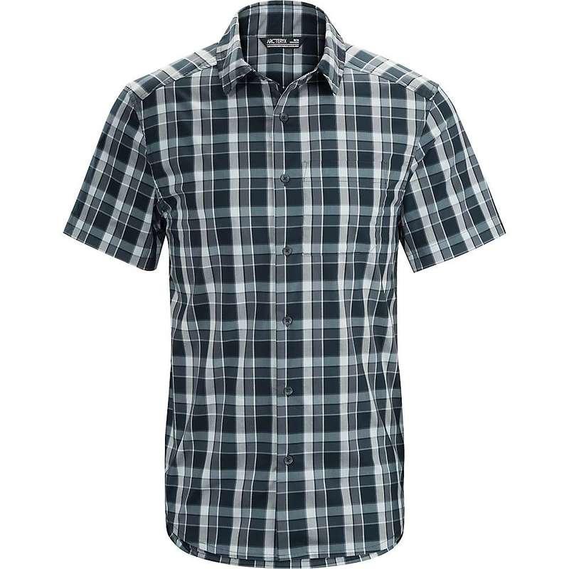 アークテリクス メンズ シャツ トップス Arcteryx Men's Brohm SS Shirt Abyssal