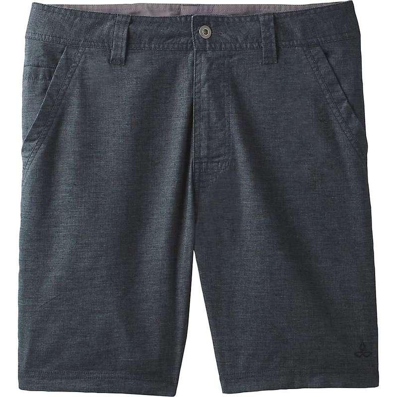 プラーナ メンズ ハーフパンツ・ショーツ ボトムス Prana Men's Furrow 8IN Short Black