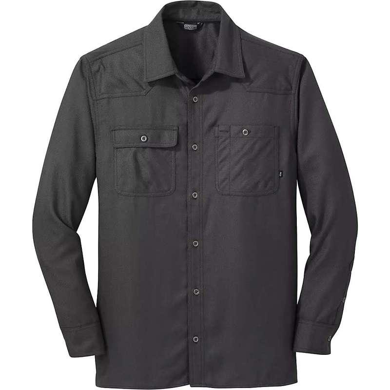 アウトドアリサーチ メンズ シャツ トップス Outdoor Research Men's Feedback Flannel Shirt Storm