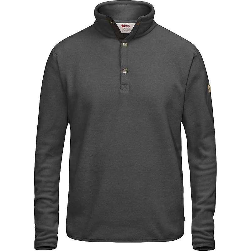 フェールラーベン メンズ ニット・セーター アウター Fjallraven Men's Ovik Fleece Sweater Dark Grey