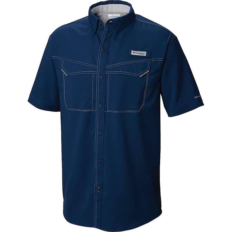 コロンビア メンズ シャツ トップス Columbia Men's Low Drag Offshore SS Shirt Carbon