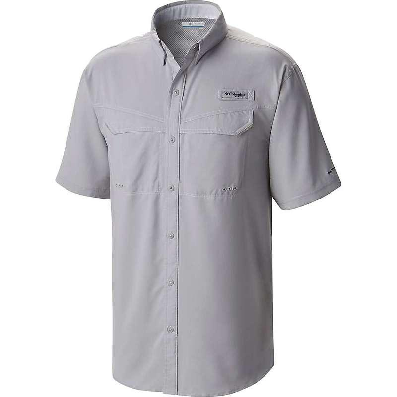 コロンビア メンズ シャツ トップス Columbia Men's Low Drag Offshore SS Shirt Cool Grey / White