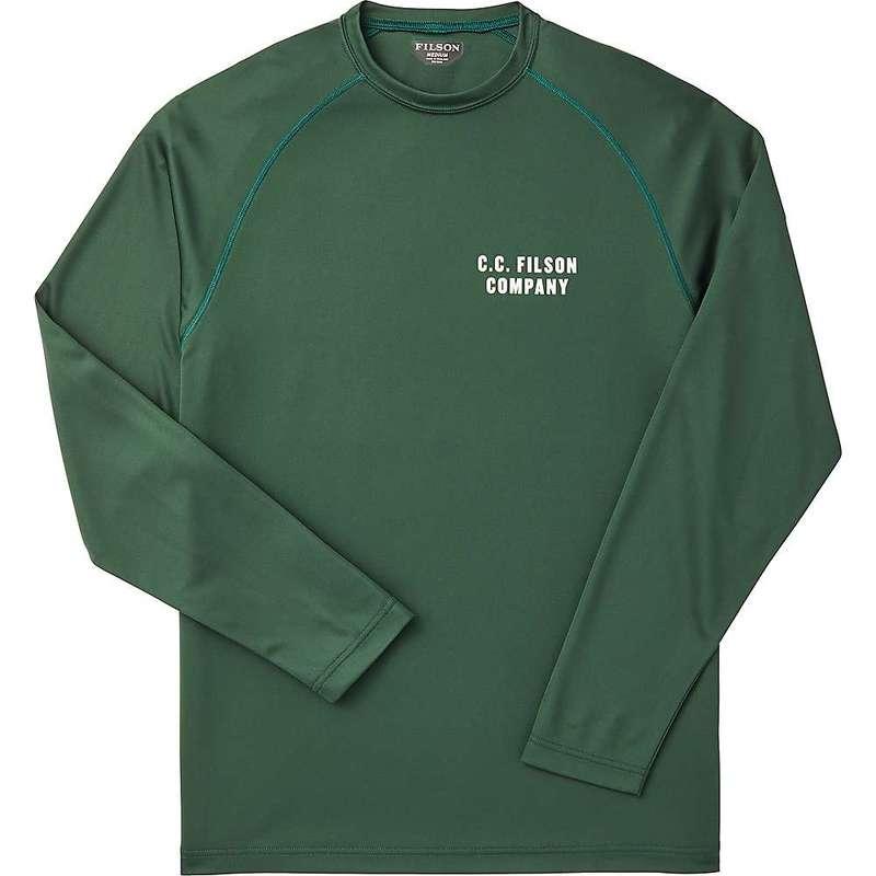 フィルソン メンズ シャツ トップス Filson Men's Barrier LS T-Shirt Dark Moss