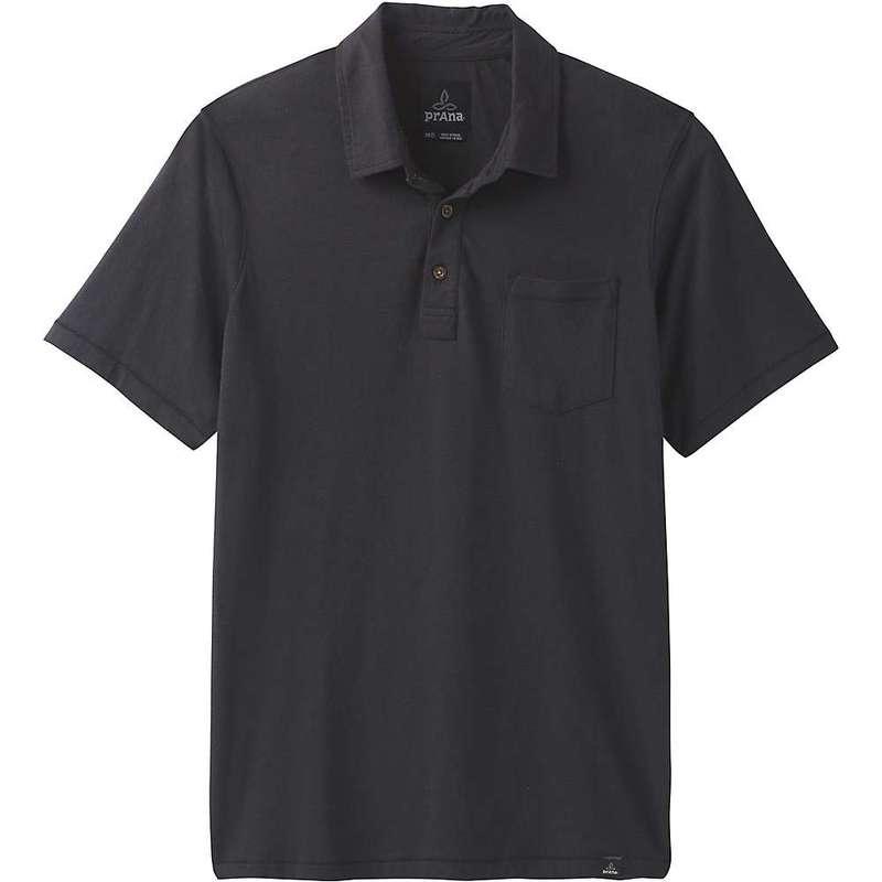プラーナ メンズ シャツ トップス Prana Men's Polo Shirt Black