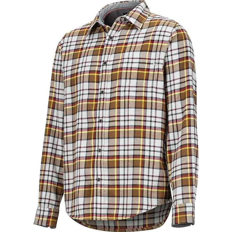 マーモット メンズ シャツ トップス Marmot Men's Fairfax Midweight Flannel LS Shirt Bright Steel