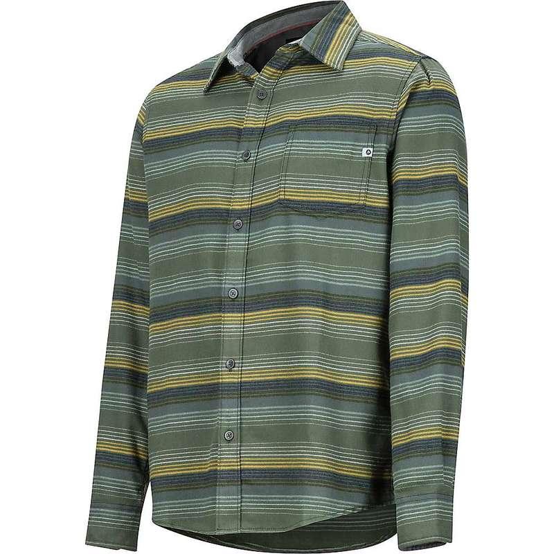 マーモット メンズ シャツ トップス Marmot Men's Fairfax Midweight Flannel LS Shirt Golden Leaf