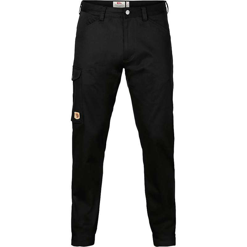 フェールラーベン メンズ カジュアルパンツ ボトムス Fjallraven Men's Greenland Stretch Trouser Black