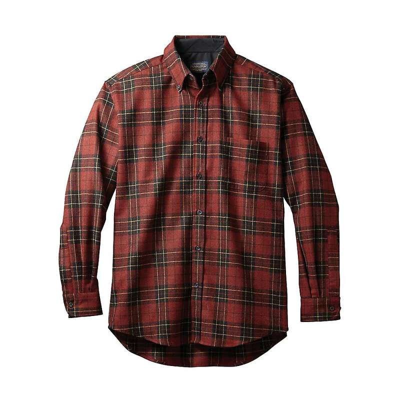 ペンドルトン メンズ シャツ トップス Pendleton Men's Long Sleeve Fireside Button Down Shirt Brodie