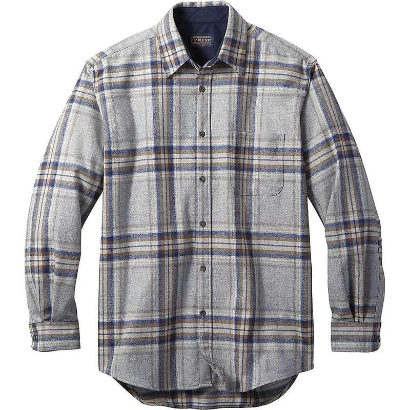 ペンドルトン メンズ シャツ トップス Pendleton Men's Long Sleeve Lodge Shirt Grey/Blue Multi