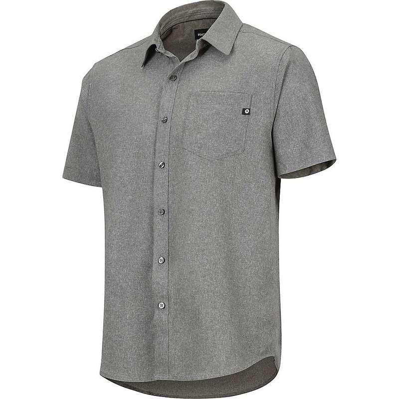 マーモット メンズ シャツ トップス Marmot Men's Aerobora SS Shirt Cinder