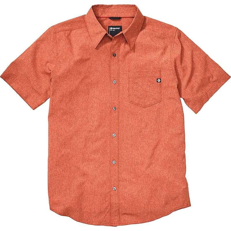 マーモット メンズ シャツ トップス Marmot Men's Aerobora SS Shirt Picante