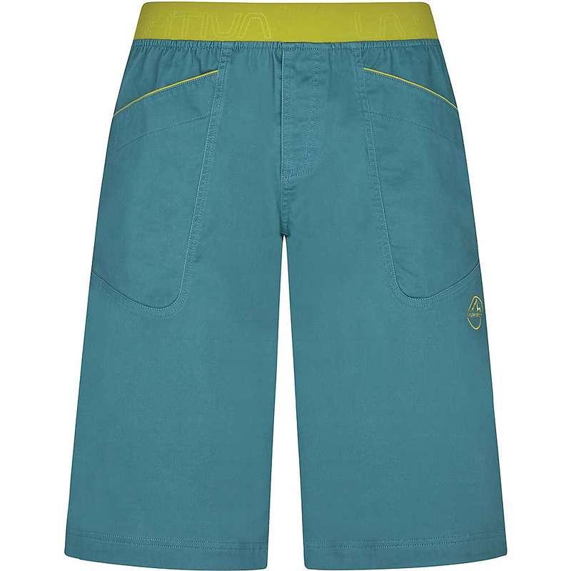 ラスポルティバ メンズ ハーフパンツ・ショーツ ボトムス La Sportiva Men's Flatanger Short Pine / Kiwi