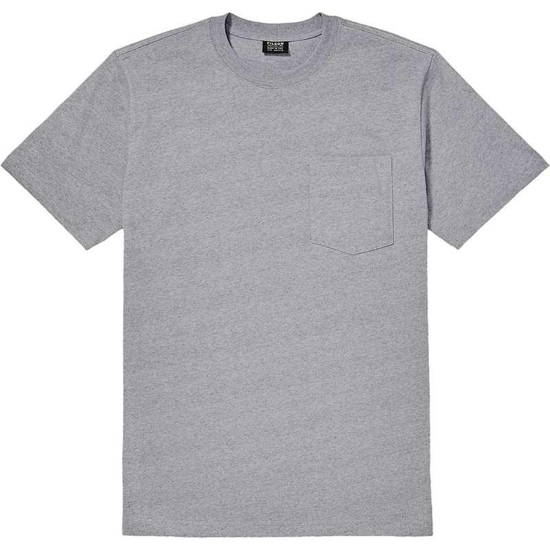 フィルソン メンズ Tシャツ トップス Filson Men's Outfitter Solid One-Pocket SS T-Shirt Grey Heather