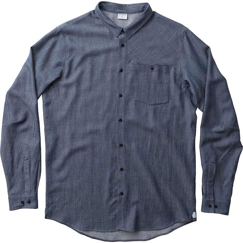 送料無料 サイズ交換無料 フーディニ 驚きの値段で メンズ トップス 日本産 シャツ blue Out Men's illusion About and Houdini Shirt