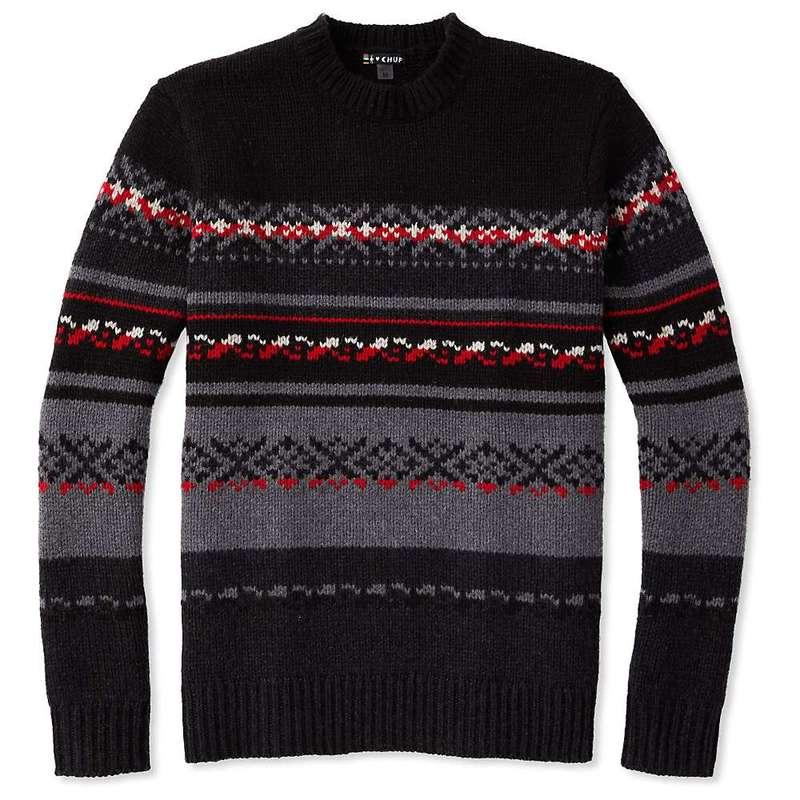 スマートウール メンズ ニット・セーター アウター Smartwool Men's CHUP Kaamos Sweater Charcoal Heather