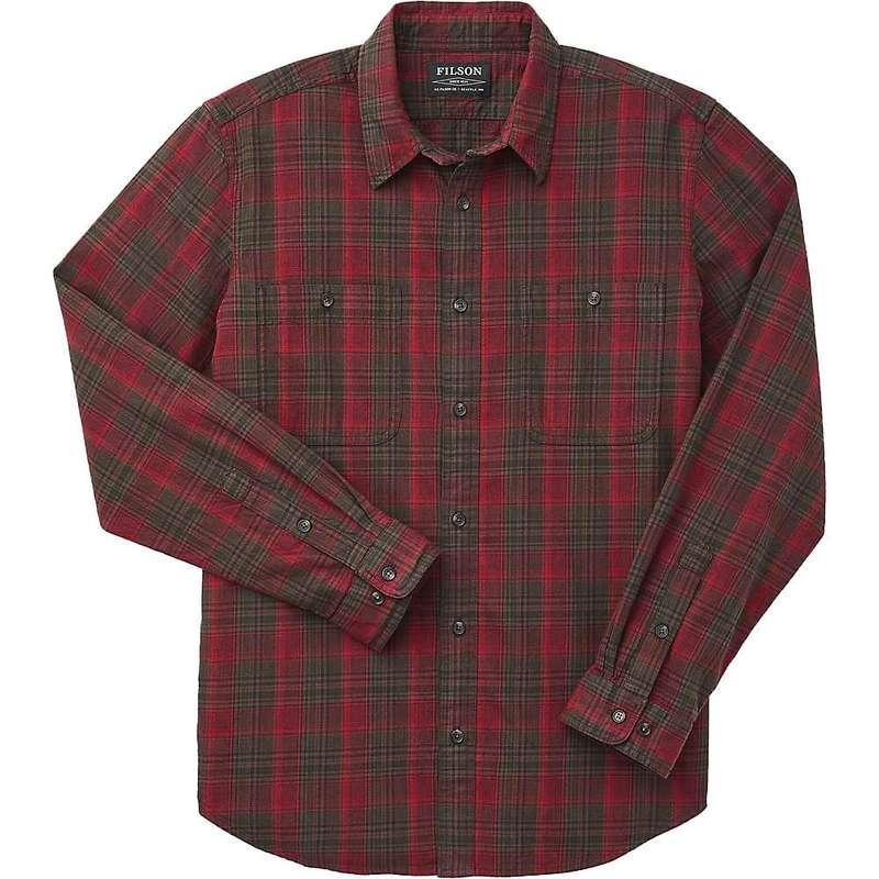 フィルソン メンズ シャツ トップス Filson Men's Wildwood Shirt Red Olive Brown