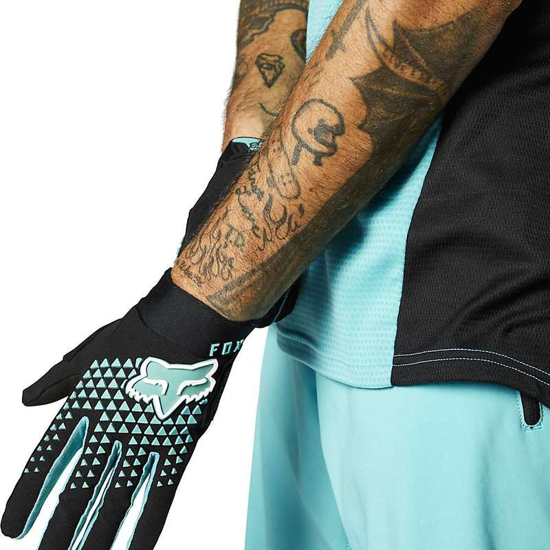 送料無料 サイズ交換無料 メーカー在庫限り品 オンラインショップ フォックス メンズ アクセサリー 手袋 Glove Teal Defend Fox