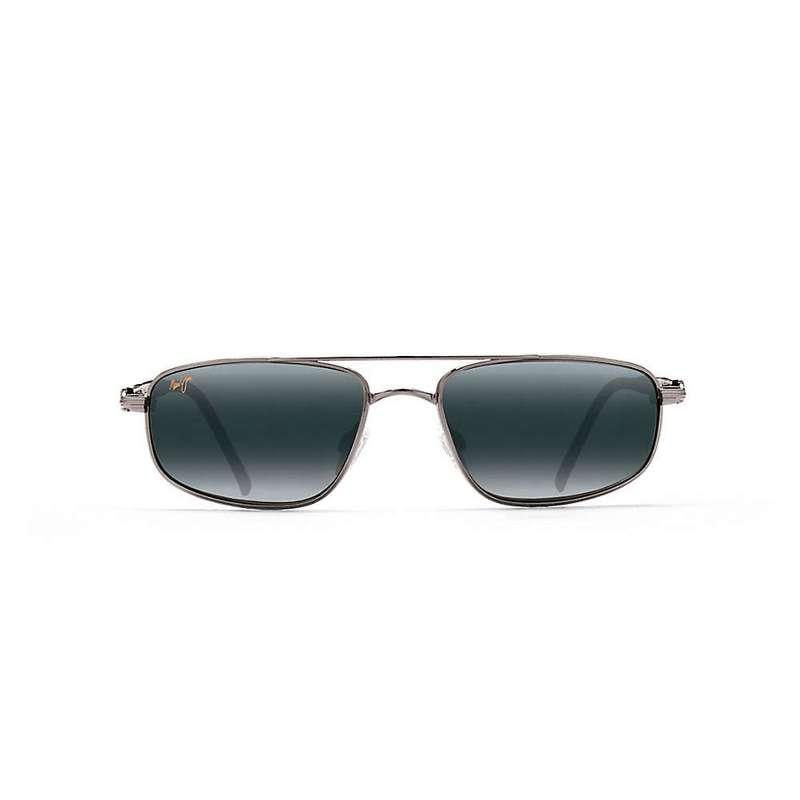 マウイジム メンズ サングラス・アイウェア アクセサリー Maui Jim Kahuna Polarized Sunglasses Gunmetal / Neutral Grey