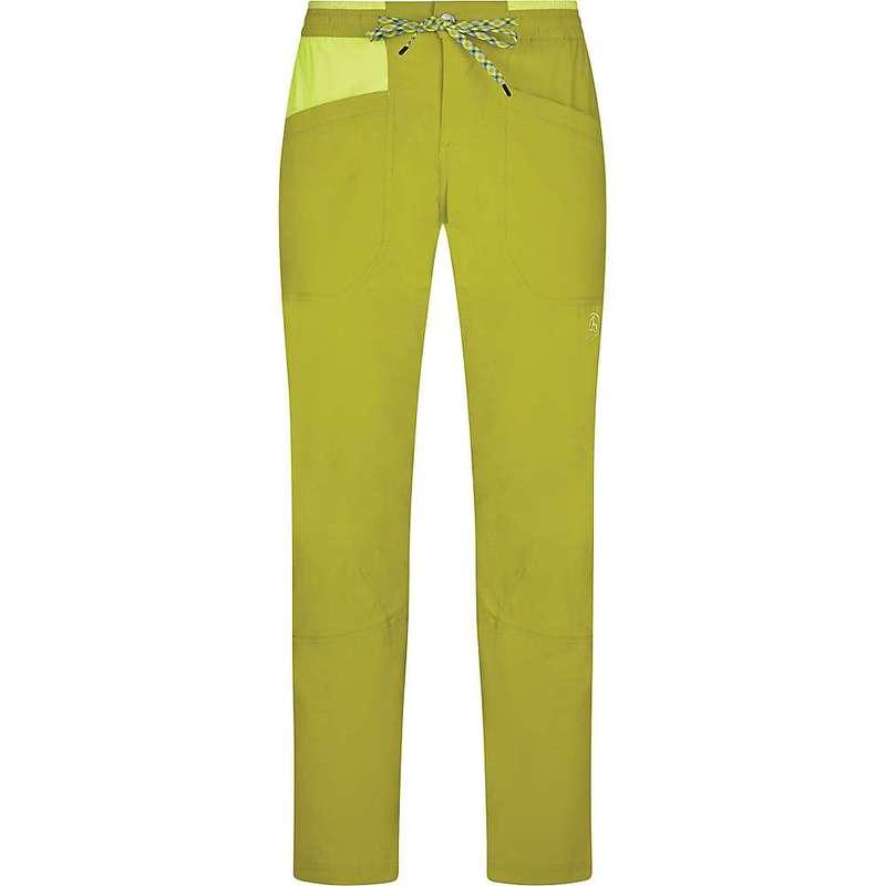ラスポルティバ メンズ カジュアルパンツ ボトムス La Sportiva Men's Talus Pant Kiwi / Citrus