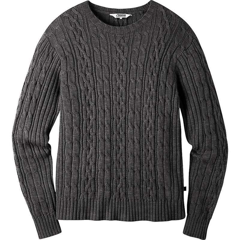 送料無料 上品 サイズ交換無料 マウンテンカーキス メンズ アウター ニット セーター Khakis Mountain Sweater 数量限定アウトレット最安価格 Men's Prospector Slate