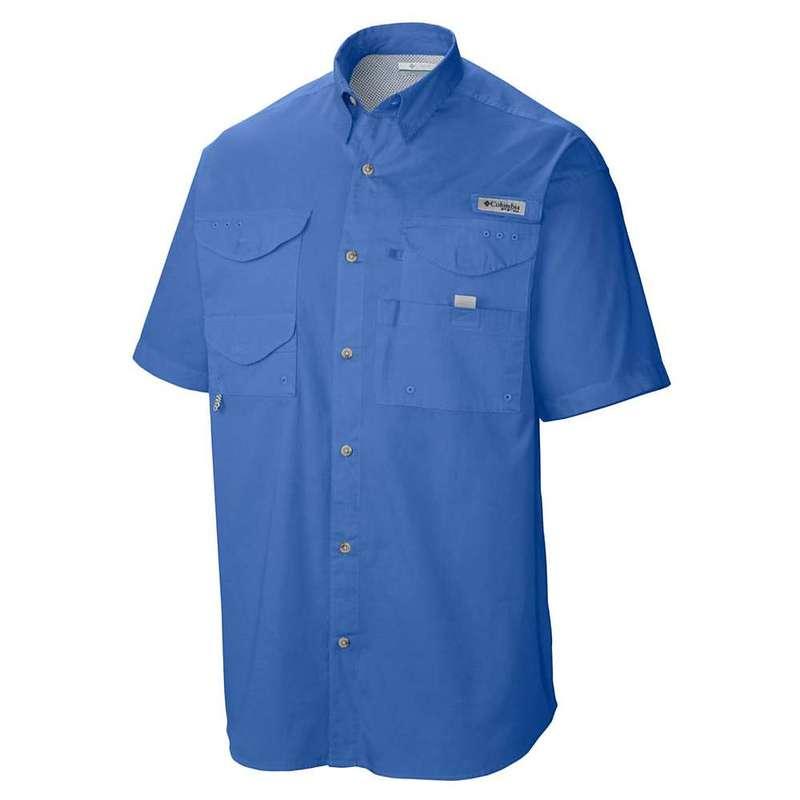 コロンビア メンズ シャツ トップス Columbia Men's Bonehead SS Shirt Vivid Blue