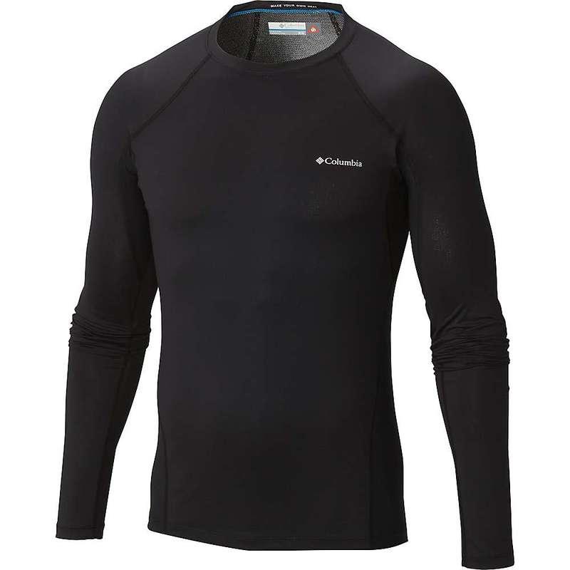 コロンビア メンズ Tシャツ トップス Columbia Men's Midweight Stretch Long Sleeve Top Black