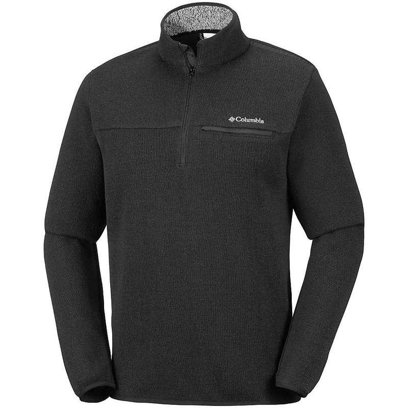 コロンビア メンズ ニット・セーター アウター Columbia Men's Terpin Point III Half Zip Sweater Black