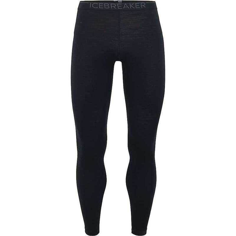 アイスブレーカー メンズ カジュアルパンツ ボトムス Icebreaker Men's 200 Oasis Legging Black