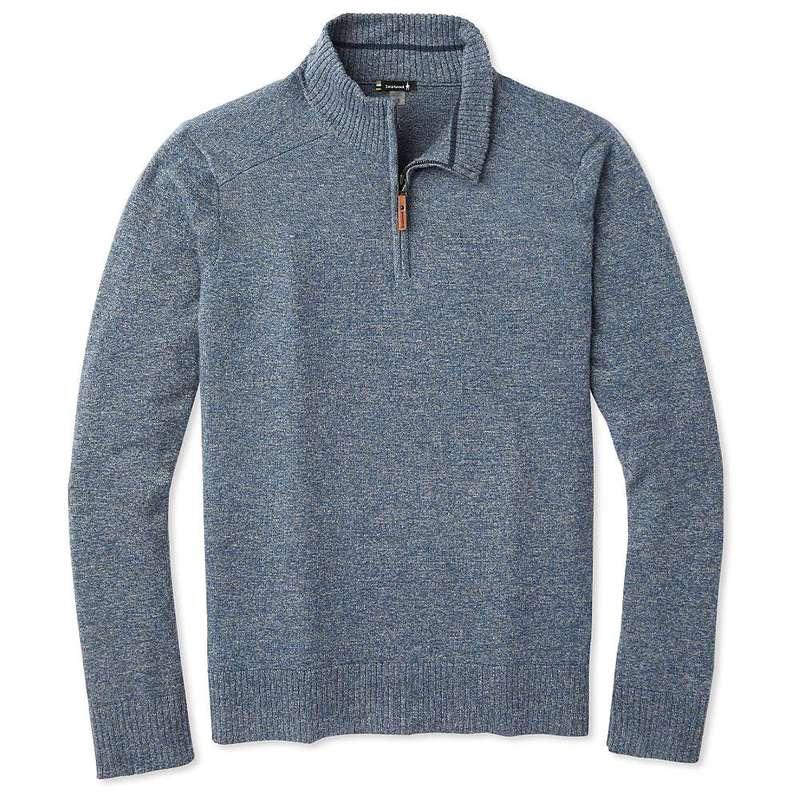 送料無料 サイズ交換無料 スマートウール メンズ アウター ニット セーター Alpine Blue Sparwood 新作販売 Zip Gray Medium Sweater Men's Half Marl 日本最大級の品揃え Smartwool