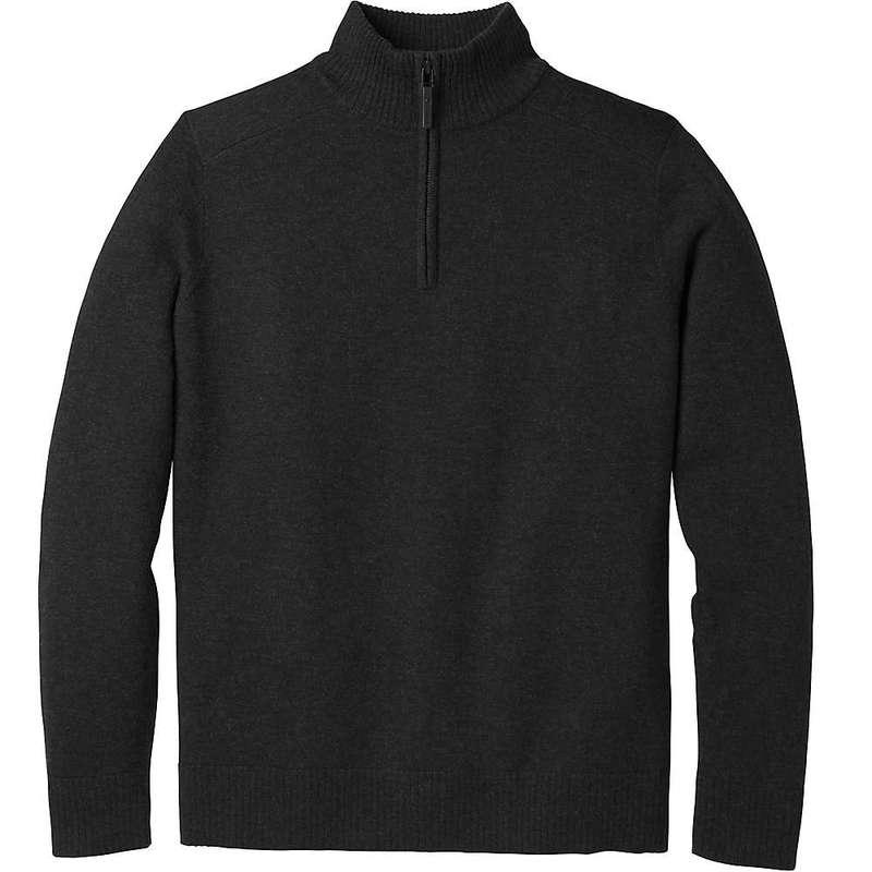 スマートウール メンズ ニット・セーター アウター Smartwool Men's Sparwood Half Zip Sweater Charcoal Heather