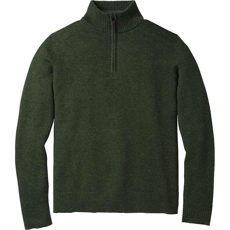 スマートウール メンズ ニット・セーター アウター Smartwool Men's Sparwood Half Zip Sweater Scarab Heather