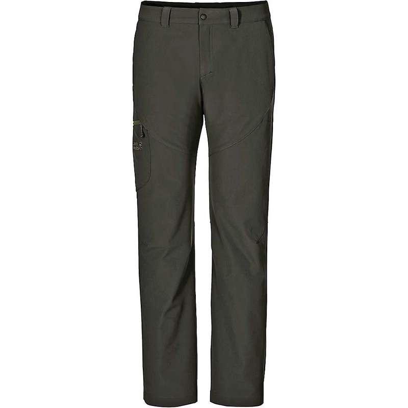 ジャックウルフスキン メンズ カジュアルパンツ ボトムス Jack Wolfskin Men's Chilly Track XT Pants Dark Moss