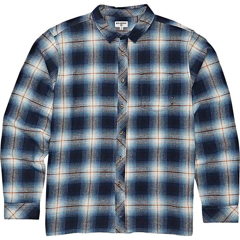 ビラボン メンズ シャツ トップス Billabong Men's Coastline Long Sleeve Shirt Blue