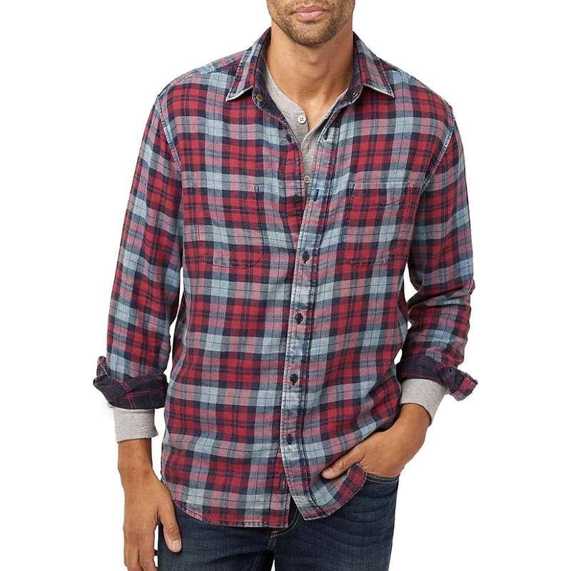 ファレティ メンズ シャツ トップス Faherty Reversible Belmar Long Sleeve Shirt Vintage Red / Indigo