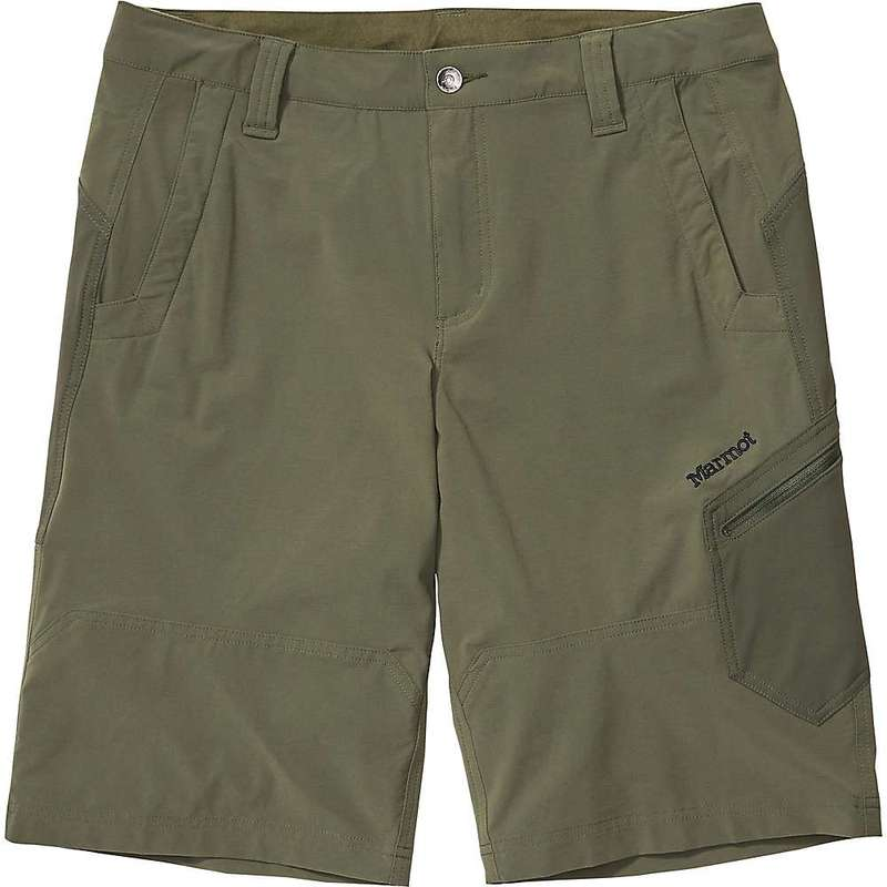 マーモット メンズ ハーフパンツ・ショーツ ボトムス Marmot Men's Limantour 12 Inch Short Nori
