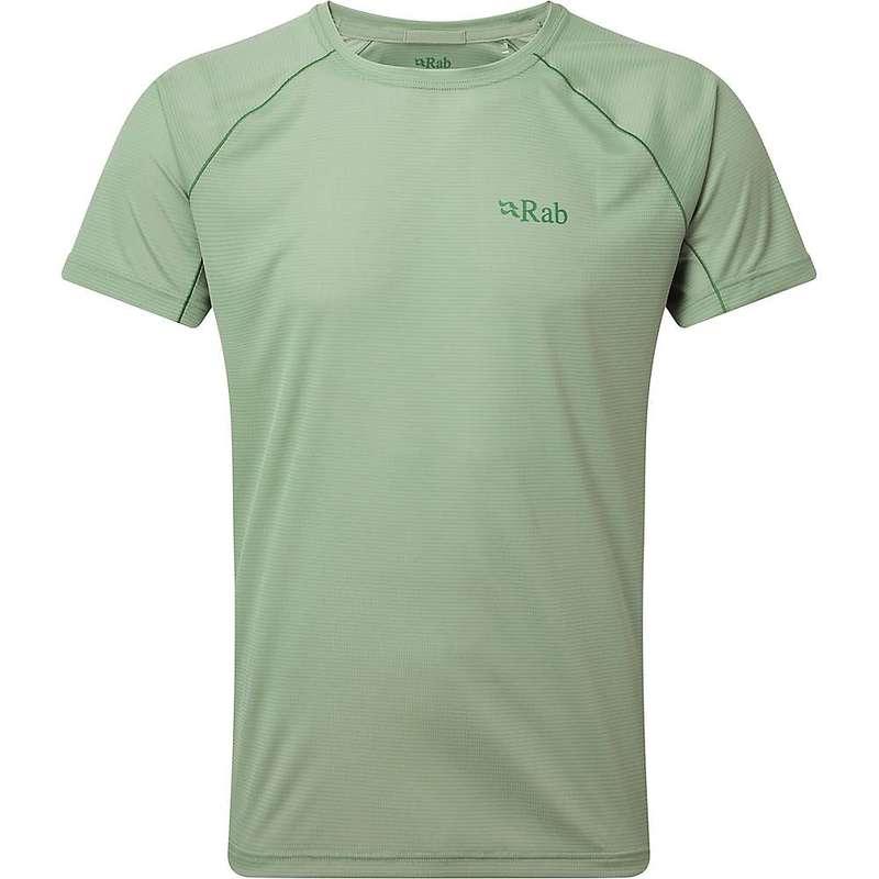ラブ メンズ Tシャツ トップス Rab Men's Pulse SS Tee Silverpine