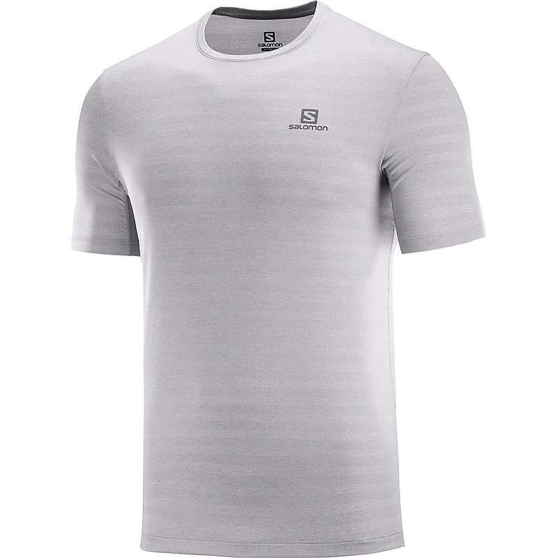 サロモン メンズ Tシャツ トップス Salomon Men's XA Tee Alloy/Heather