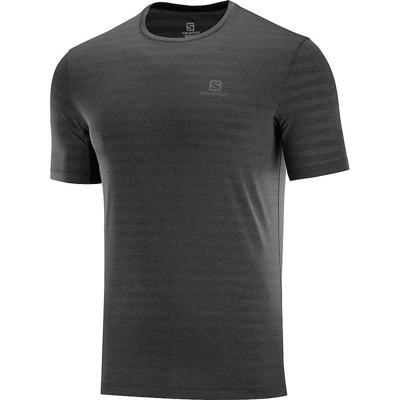 サロモン メンズ Tシャツ トップス Salomon Men's XA Tee Black/Heather