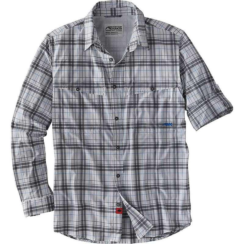 マウンテンカーキス メンズ シャツ トップス Mountain Khakis Men's Skiff Shirt Gunmetal Plaid