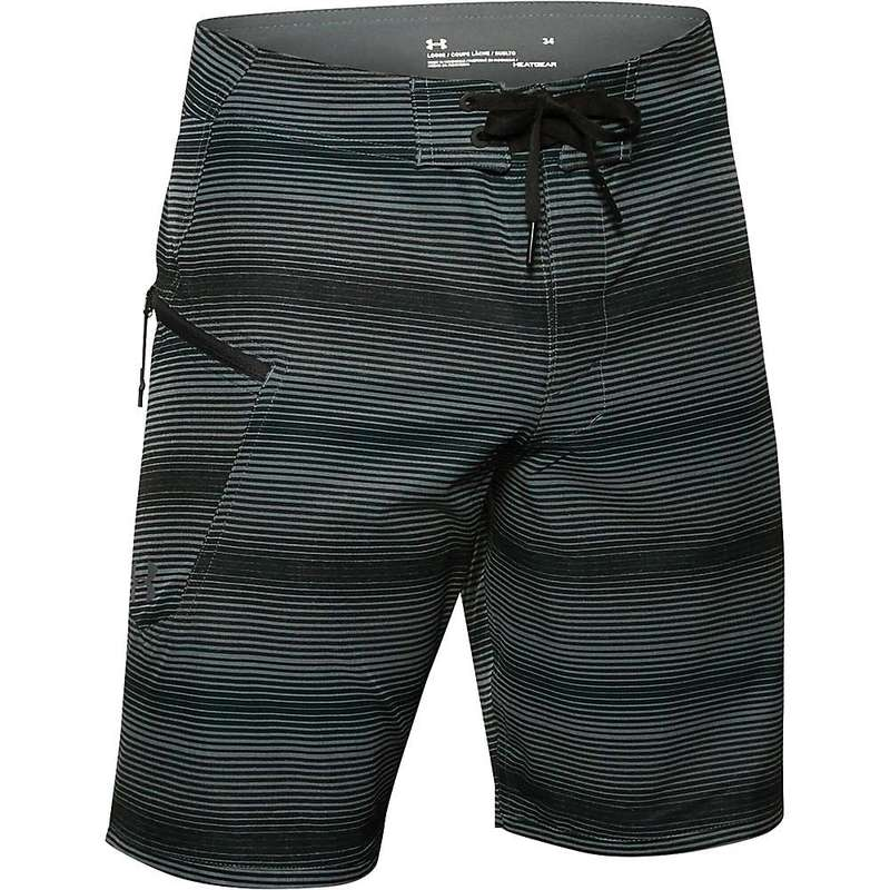 アンダーアーマー メンズ ハーフパンツ・ショーツ 水着 Under Armour Men's Tide Chaser Boardshort Pitch Grey / Pitch Grey