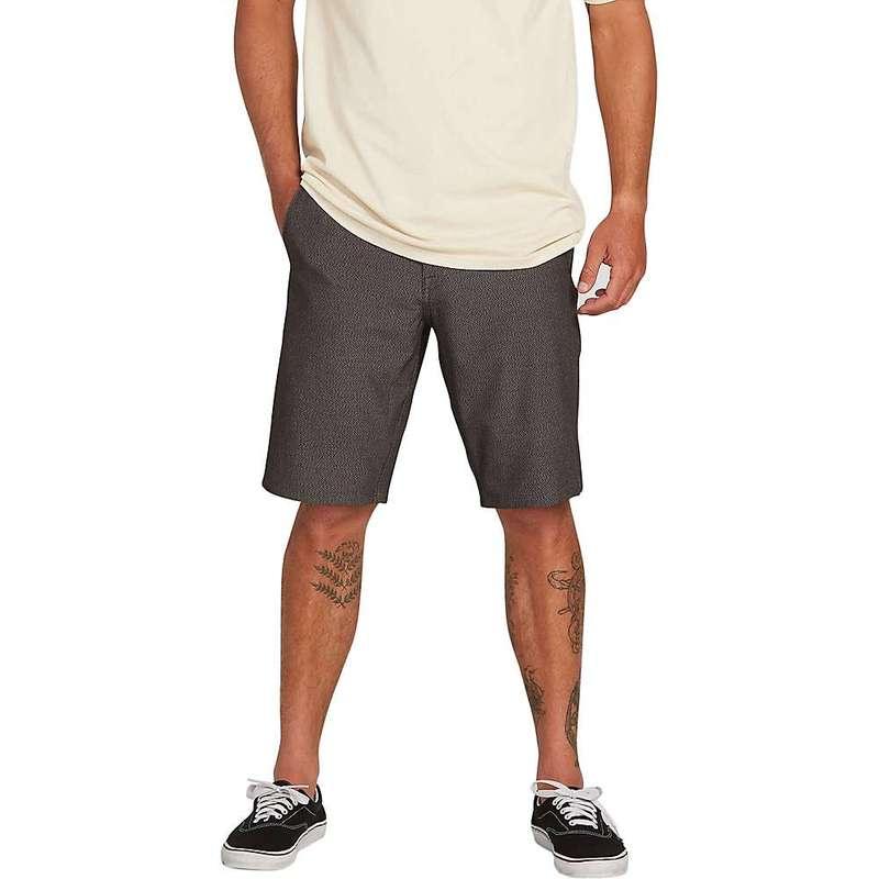 ボルコム メンズ ハーフパンツ・ショーツ ボトムス Volcom Men's Snt Dry Cargo 21 Inch Short Charcoal Heather 3211901