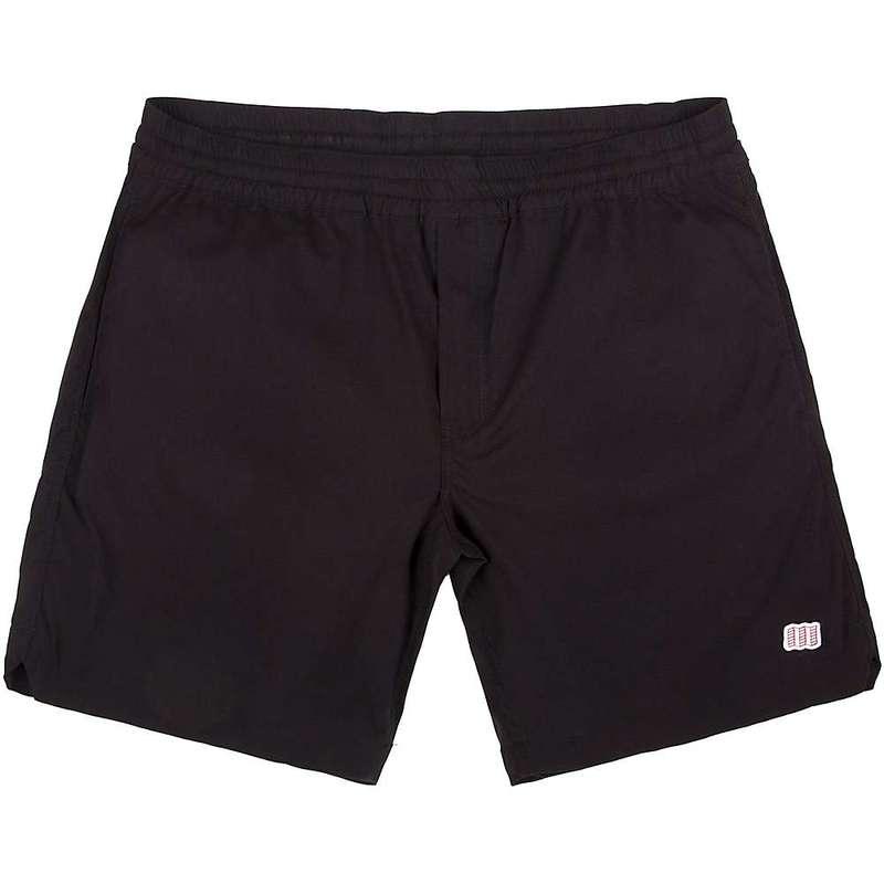 トポ・デザイン メンズ ハーフパンツ・ショーツ ボトムス Topo Designs Men's Global 7 Inch Short Black
