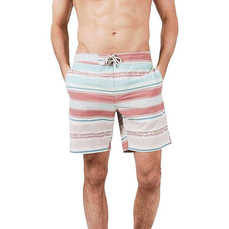 ファレティ メンズ ハーフパンツ・ショーツ 水着 Faherty Men's 7 inch Classic Boardshort Mirage Saltillo