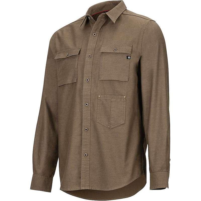 マーモット メンズ シャツ トップス Marmot Men's Kingsbury LS Shirt Cavern
