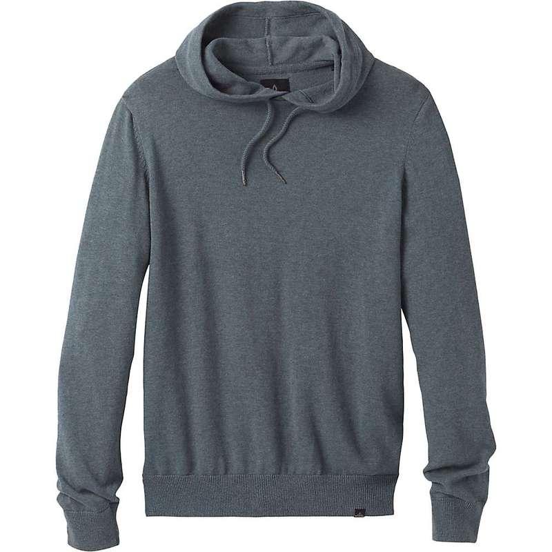 プラーナ メンズ ニット・セーター アウター Prana Men's Kaola Hooded Sweater Smoky Blue